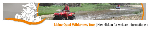 kleine Quad-Wilderness-Tour